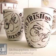 PorcelainPen calligraphy White