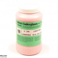 Pottery Underglaze V-316 Light Pink