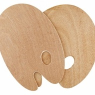 Wooden Palette 25X30cm,Oval3mm