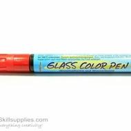 GlassColor Pen Red