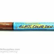 GlassColor Pen Brown