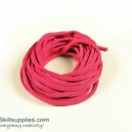 Craft cord fuschia 5m