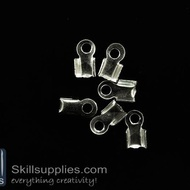 End crimps 3 mm  EN12 ,25 pcs   silver