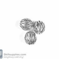 German Silver Bead 31