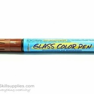 GlassColor Pen Brown