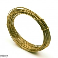 Jewellery Wire Antique Gold ,Gauge No.18