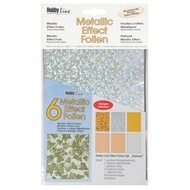 Metallic Effectfoil set 6pc Glamour