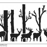 Nature Stencil Animals ANM001