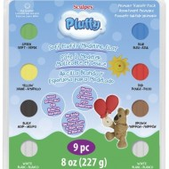 PolymerClay Kids Pluffy Multipack Primary