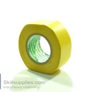 Rice paper tape Yellow 24mm