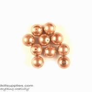 Round glass beads Pearls 5