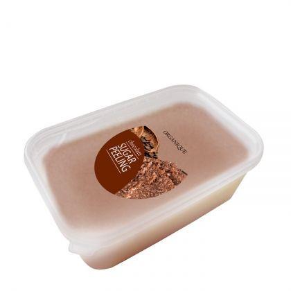 Exfoliant corp, cu ciocolata, Organique, 1000 ml