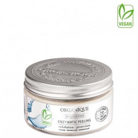Exfoliant facial, enzimatic, pe baza de plante, Organique, 100 ml