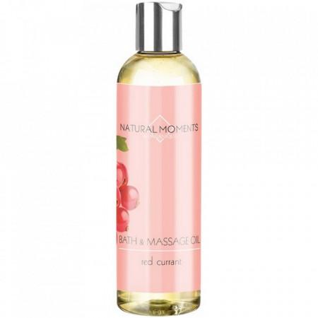 Ulei masaj si baie cu coacaze rosii Natural Moments, Organique, 250 ml