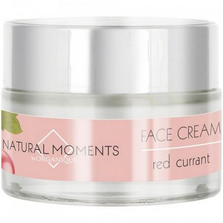 Crema de fata cu coacaze rosii Natural Moments, Organique, 50 ml