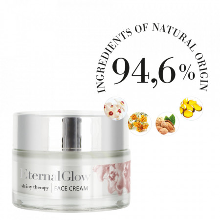 Crema de fata Eternal Glow 94.6% ingrediente naturale.