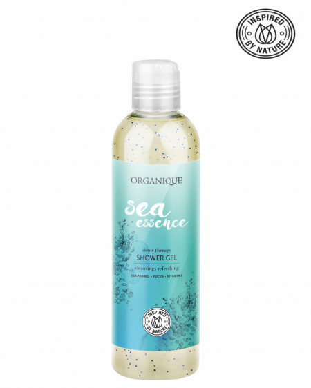 Gel dus, esenta marina, Organique, 250 ml
