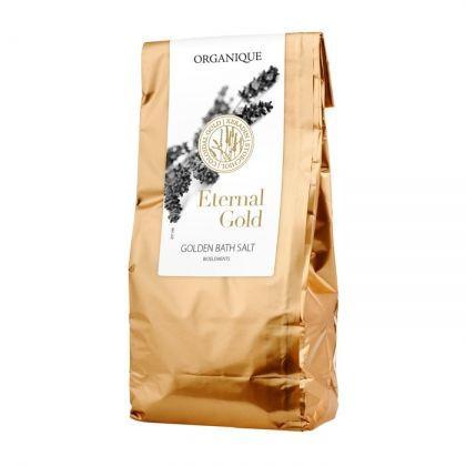 Sare de baie cu aur, Eternal Gold, Organique, 200 gr