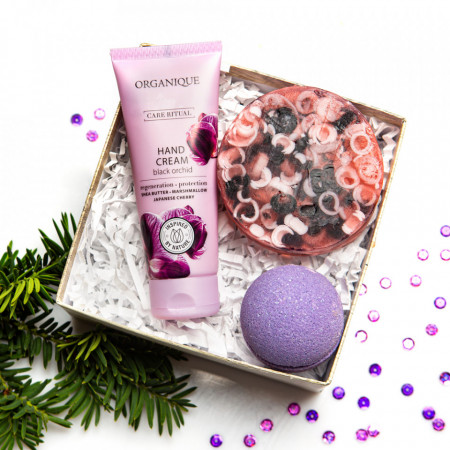 Set cosmetic cadou Winter Flower, Organique