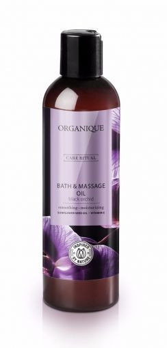 Ulei pentru masaj Orhidee neagra, Organique, 250 ml