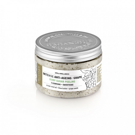 Exfoliant corp cu struguri, Organique, 450 ml
