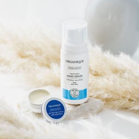 Ser hidratant si regenerant pentru maini cu matase si perle Organique 100 ml