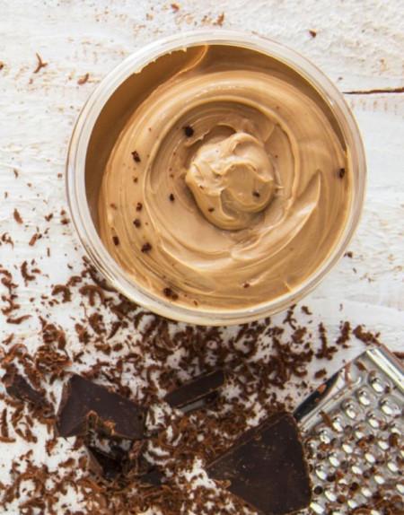 Unt corp bronzant cu cu ciocolata, Organique, 200 ml
