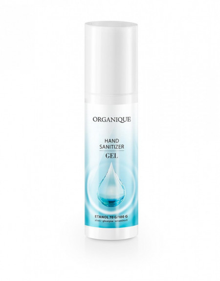 Gel antibacterian pentru maini, Organique, 50 ml