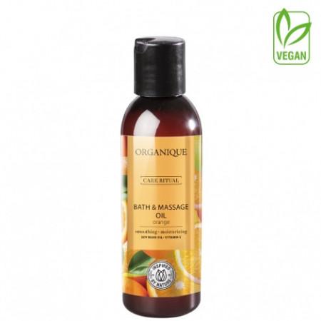 Ulei de masaj si baie cu Portocale Organique 125 ml