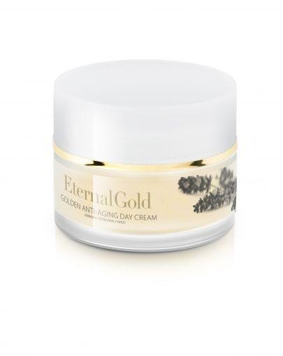 Crema de zi cu aur, Eternal Gold, Organique, 50 ml
