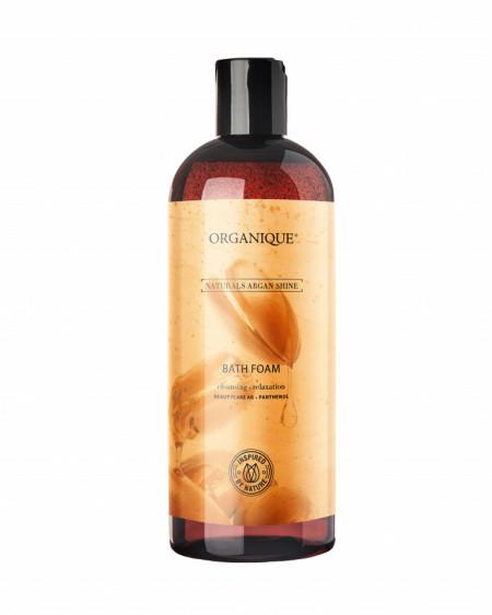 Spuma baie Argan Shine, Organique, 400 ml