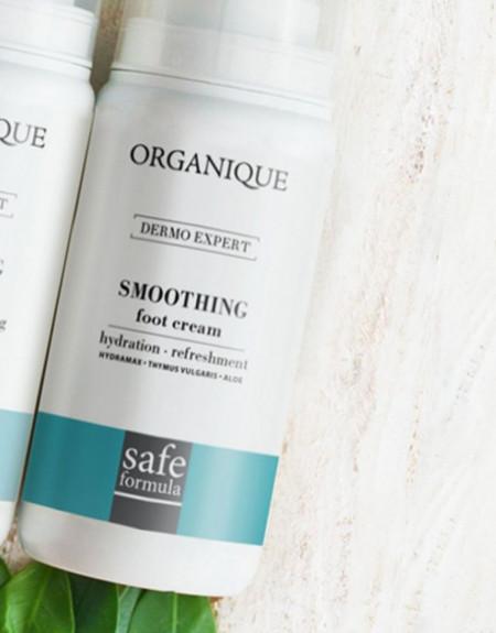 Crema hidratanta pentru picioare cu cimbru si aloe Organique 100 ml