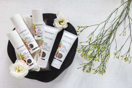 Masca pentru masajul facial cu Goji, Organique, 150 ml