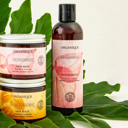 Masca fortifianta par subtire si delicat Naturals Sensitive Organique 200 ml