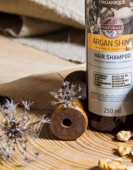 Sampon par cu ulei de argan, Organique, 250 ml