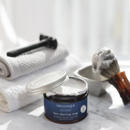 Sapun facial cremos, pentru barbierit, Organique, 150 ml