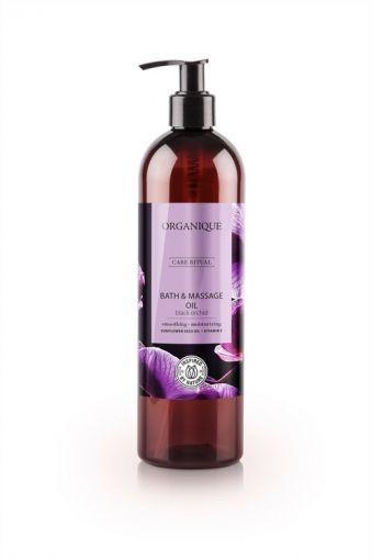 Ulei pentru masaj Orhidee neagra, Organique, 500 ml