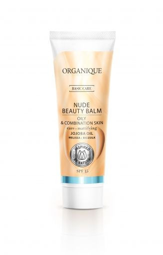 BB cream, ten mixt si gras, SPF 15, Organique, 30 ml