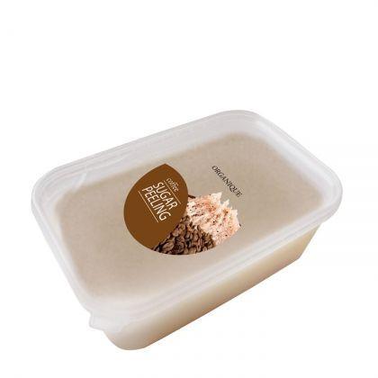 Exfoliant corp pentru slabire cu zahar si cafea , Organique, 1000 ml