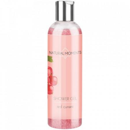 Gel de dus cu coacaze rosii Natural Moments, Organique, 250 ml