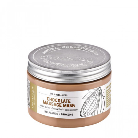 Masca corporala cu ciocolata, Organique, 100 ml