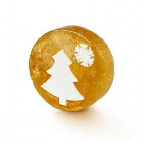 Sapun Gold Christmas Tree, Organique, 100 gr