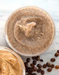 Exfoliant corp pentru slabire cu zahar si cafea, Organique, 450 ml