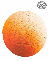 Bila efervescenta spumanta de baie, Orange & Chilli, Organique, 170 gr