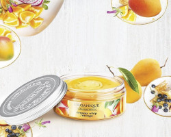 Spuma pufoasa de spalare corporala cu mango Organique 100 ml