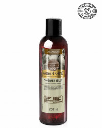 Gel dus cu ulei de argan, Organique, 250 ml