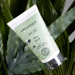 Masca faciala detoxifianta cu namol verde,Organique, 50 ml