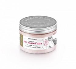 Masca masaj corporala revitalizanta si regeneranta Delicious Touch, Organique, 450 ml