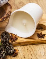Set 3 candela pentru masaj cu ulei de Bambus, Guarana si Mosc, Organique, 3 X 125 ml