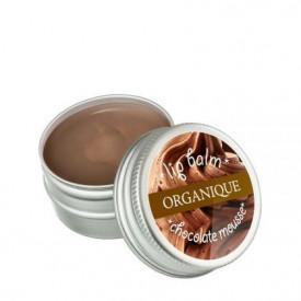 Balsam de buze, spuma de ciocolata, Organique, 15 ml